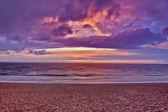 Dark summer cloudscape — Stock Photo