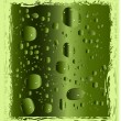 Royalty-Free Stock Vector Image: Green drops illustration