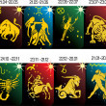 Zodiac symbols collection — Stock Vector