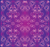 Pink and lilac square background — Stock Vector