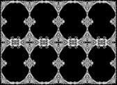 Eight area white frame — Stock Vector