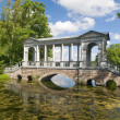 Old bridge above pond — Stock Photo #6415064