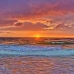 Orange summer cloudscape — Stock Photo #6415302