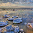Hdri winter sea landscape — Stock Photo