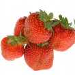Stock Photo: Group of red sweet strawberries