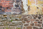 Brick wall textures collection — Stock Photo