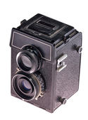 Dos lente de la cámara — Foto de Stock