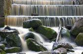 Three level cascade of waterfalls — Stock Photo