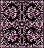 Dobrze różowy tło kwadrat — Wektor stockowy