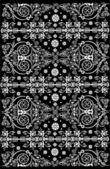 Witte abstracte achtergrond met traditionele elementen — Stockvector