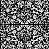 Abstraktní bílý čtvereček ilustrace — Stock vektor