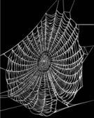 Weiße Web Abbildung — Stockvektor