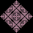 Simple abstract pink rhomb pattern - Stock vektor