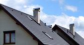 Gray roof — Stock Photo