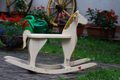 Rocking horse — Stock Photo