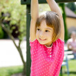 Mother and daughter having fun on playground — Stock Photo #6309283