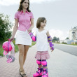 I love rollerblades! — Stock Photo #6309360
