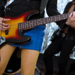 Guitarist - Musical Band — ストック写真