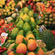 Fruit on a Spanish market - Foto de Stock  
