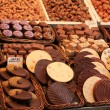 Chocolates and pralines on a market — Lizenzfreies Foto