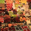 Fruit on a Spanish market - Stockfoto