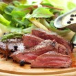 Stock Photo: Grilled venison