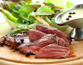 Grilled venison — Stock Photo