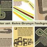 The vector retro grunge background — Stock Vector #5659189