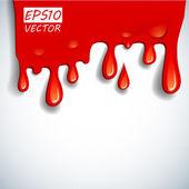 El fondo de sangre vector abstracto — Vector de stock