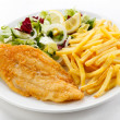 Fried fish fillet — Stock Photo #5547235