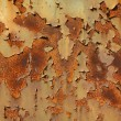 Background of rusty, brown sheet metal — Stock Photo