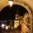 Fisherman's bastion in Budapest, Hungary — Stockfoto