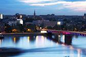 View of panorama Novi Sad, Serbia — Stock Photo