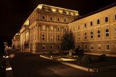 будайской крепости в будапеште, венгрия — Стоковое фото