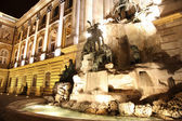 Fountain at the Buda Castle in Budapest, Hungary — Stock Photo