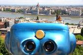 Budovy parlamentu v budapešti, maďarsko — Stock fotografie
