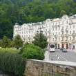 "Karlovy Vary, ""Grand Hotel Pupp"" — Stock Photo"