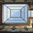 Rome, glass roof Galleries Alberto Sordi — Stock Photo