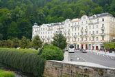 "Karlovy Vary, ""Grand Hotel Pupp"" — Stock Photo"
