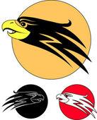 The eagle bird as a symbol — Stock Vector