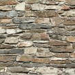Old house stone wall - Stock Photo
