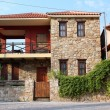Stone house Parthenonas Greece — Stock Photo