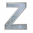 Diamond Character Z — Stock Photo