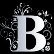 Stock Photo: Capital letter B