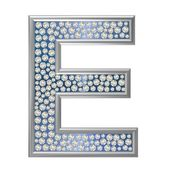 Diamond Character E — Stock Photo