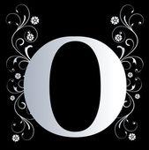 Capital letter O — Stock Photo