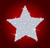 Elmas yıldız — Stok fotoğraf