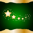 Christmas star background — Stock Vector