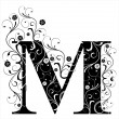 Letter Capital M — Stockvector #6057141