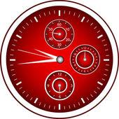 Chrono Watch — Stock Vector